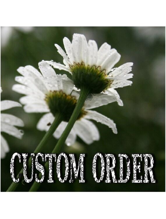 Custom Order for Tyler
