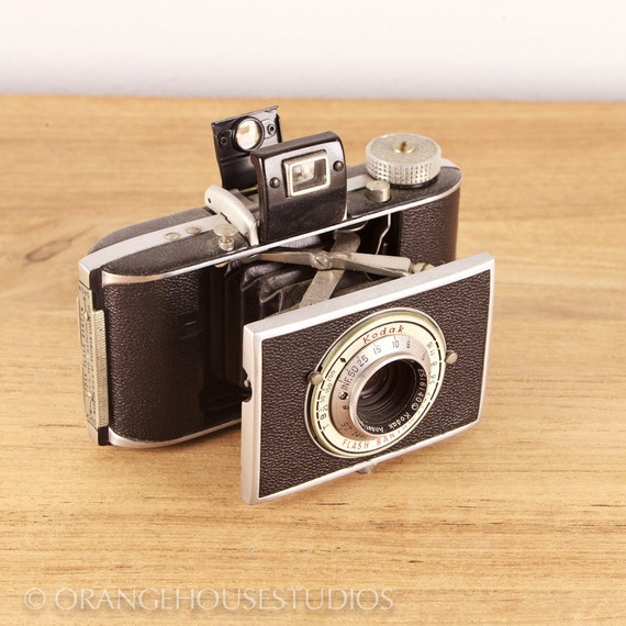 1947 Kodak Bantam Flash folding camera