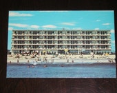 Unused Picture Postcard The Dunes Motel Ocean City Maryland