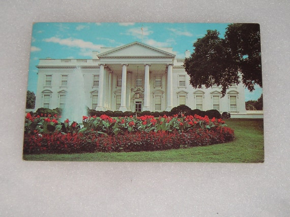 Unused Picture Postcard The White House Washington DC President Front Post Card