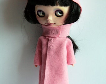 Silviacat - Pink coat for Blythe