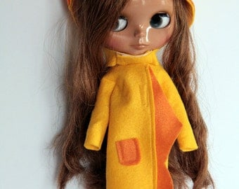 Silviacat - Lovely coat for Blythe and Pullip