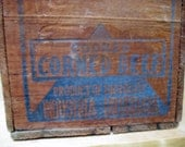 Vintage Corned Beef box. Advertising crate. Libbys