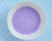 Lavender Sanding Sugar, Fine Light Purple Sanding Sugar, Cookie Decorating Sanding Sugar, CakePop Sugar (4 ounces)