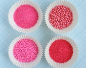 Pink Sprinkle and Sugar Mix for Decorating Cupcakes and Cookies (8 ounces)