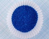 Royal Blue Sanding Sugar (2 ounces) for Decorating Cupcakes, Cookies and Cakes