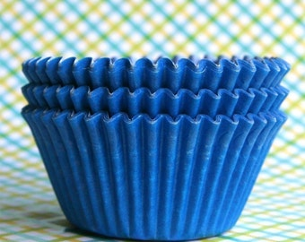 Blue Cupcake Liners (100)