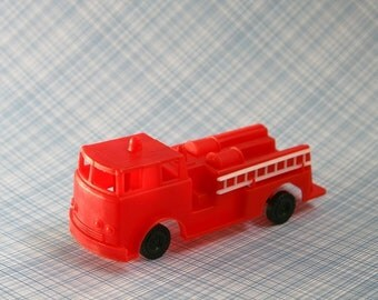 Fire Engine Cake Topper, Fire Truck Cake Decoration