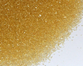 Gold Sanding Sugar, Gold Cookie Sprinkles, Metallic Gold Sugar Sprinkles, Christmas Cookie Sprinkles (4 ounces)