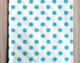 Blue Polka Dot Goody Bags  (20)