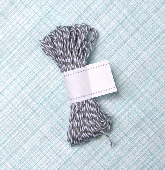 Gray Bakers Twine, Grey Baker's String (15 yards)