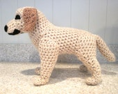Crocheted Labrador Retriever PDF Pattern - Digital Download - ENGLISH ONLY