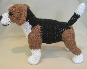 Beagle PDF Crochet Pattern - Digital Download - ENGLISH ONLY
