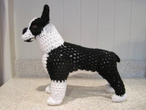 Boston Terrier Crochet Pattern - Digital Download