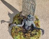 Graveyard Zombie Spooky Sprite II