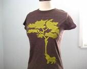 Elephant Tree T Shirt Junior Fit