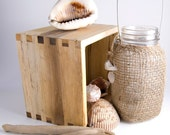Jute Wrapped Vintage Beach Lantern