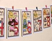 "Children Art Educational Farm Animal Flash Cards 5""x7"""
