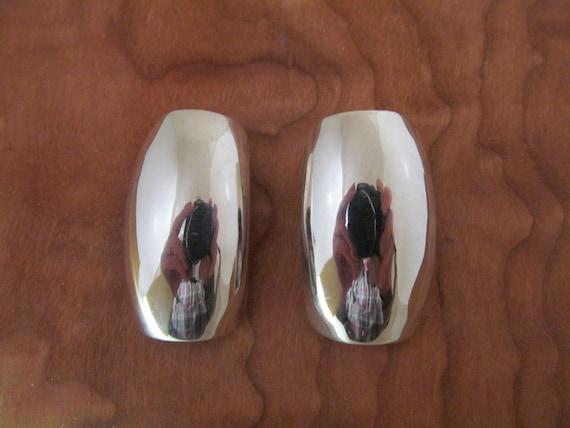 Los Ballesteros Earrings Silver Taxco