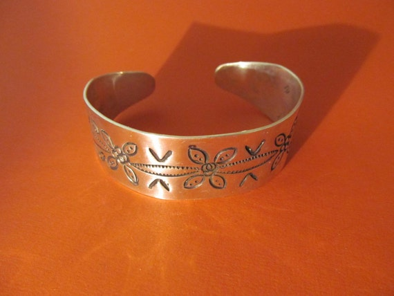 Silver Southwestern Bracelet Native American