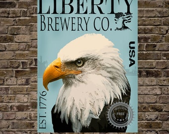 Liberty Brewery Print 16x20-(See last photo for other options)