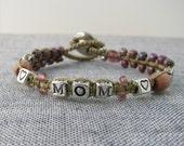 MOM Macrame Bracelet