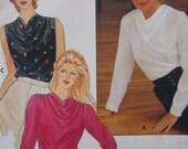 Sale -  Vintage - Cowl Neck Blouse - Butterick 4709 -  Bust 34 - Uncut Pattern