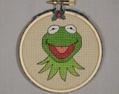 Kermit the Frog Christmas Ornament