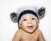 Cute Jester/Pom Pom Ball Hat/Beanie - ANY CHILD SIZE - ANY COLOR