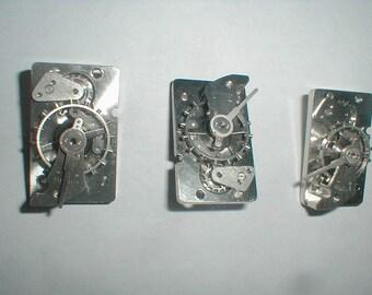 three11 jewled clock escapement for parts,repair,steampunk