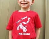 Dirt Bike Kids T-Shirt - Look Mom, No Hands