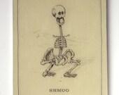 Shmoo Skeleton (Last on on Panel)