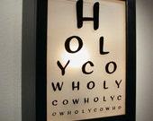 Wholy - Illuminated Eye Chart
