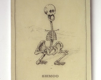 Shmoo Skeleton (Last on on Panel)