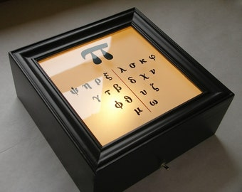 Split - Illuminated Eye Chart