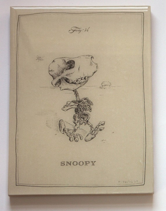 Snoopy Skeleton (Last one on Panel)