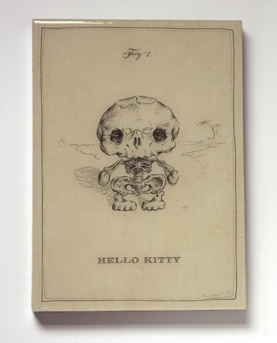 Hello Kitty Skeleton (Last 1 on Panel)