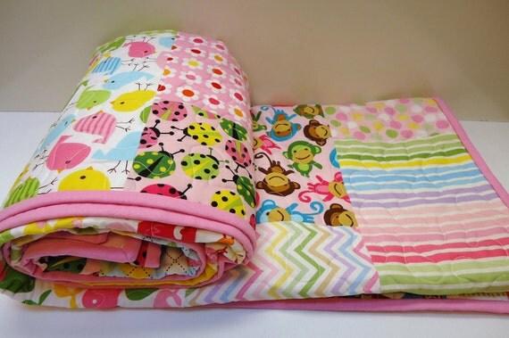 R n K Remix Baby Girl/ Toddler Quilt