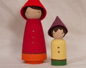 Wooden Peg Gnomes