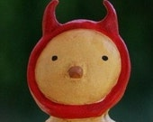 Halloween Devil Chick Figurine