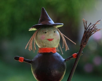 Halloween Witch Figurine