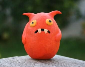 Doof, the orange beast