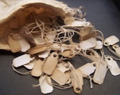 Old fashion Price tags Hanging labels  Spice jars gift tags wedding favor tags