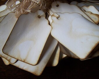 Wedding Escort cards / wishing tree tags favor gift labels 125x
