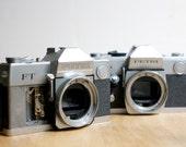 Petri Camera Bodies, For Parts or Decor