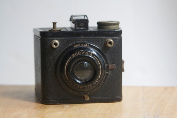 Camera, Brownie Flash Six-20, Man Cave Decor