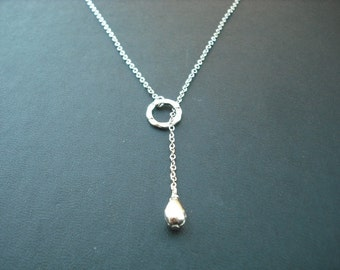 Sterling Silver chain - romantic lariat