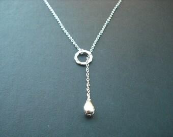 Sterling Silver chain - romantic lariat