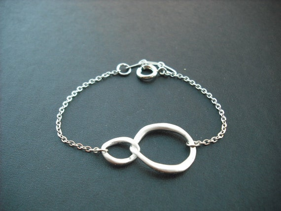 Sterling Silver Chain - double curb link bracelet