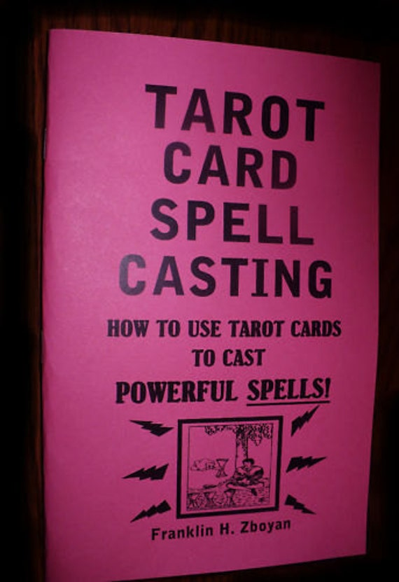 Items Similar To Tarot Card Spell Casting Book How To Use